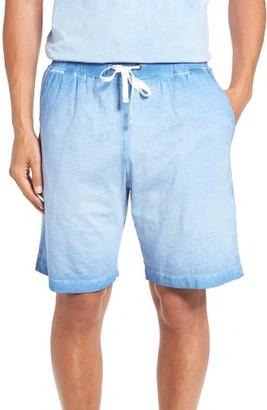 Men's Daniel Buchler Vintage Washed Lounge Shorts $68 thestylecure.com