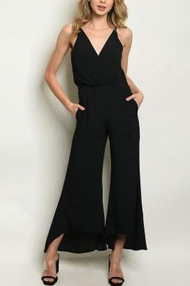 Lyn Maree's Dressy Black Jumpsuit
