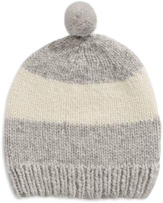 HBC Stripes Hand-Knit Wool Beanie