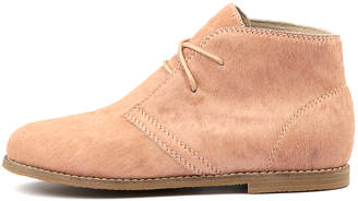 Walnut Melbourne Ginger pony boot Blush Boots Womens Shoes Casual Ankle Boots