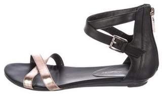 Rebecca Minkoff Leather Metallic Sandals