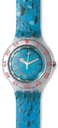 Swatch Water Drop SDK123 Plastic Quartz 38mm Mens Watch