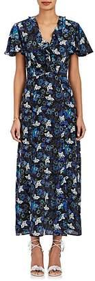 Saloni Women's Josee Floral Silk Maxi Dress