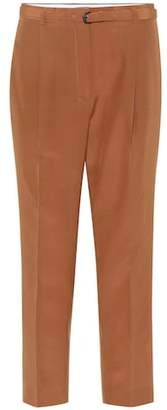 Bottega Veneta Belted silk pants