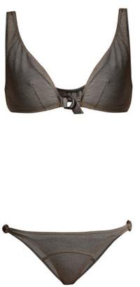 Lisa Marie Fernandez Melissa D Ring Bikini - Womens - Black