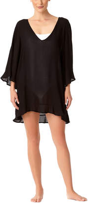 Anne Cole Live-In-Color Flounce Tunic Coverup