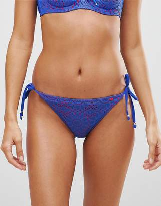 Lepel Summer Days Tie Side Bikini Bottoms