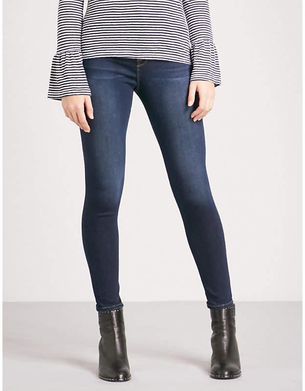 Ali skinny ultra high-rise jeans
