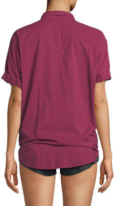 Channing Short-Sleeve Lounge Shirt
