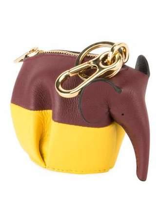 Loewe Elephant Colorblock Crossbody Bag