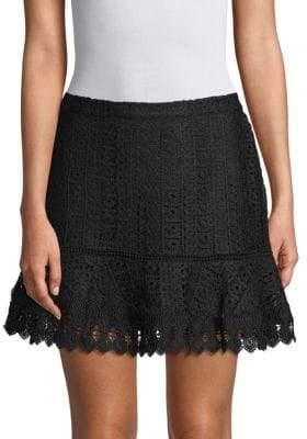 BB Dakota Jess Lace Mini Skirt