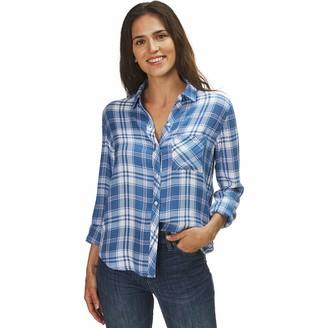 Rails Hunter Blue Jay/White/Pink Shirt - Women's