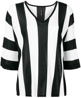 4906409b7affbc Pierantonio Gaspari Pierantoniogaspari vertical striped blouse