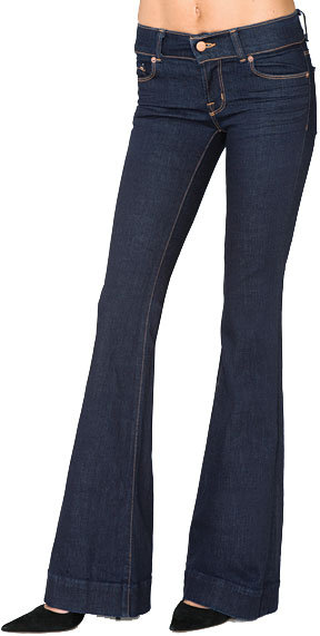 J Brand Lovestory Low Rise Bell Bottom Jean -available in many colors