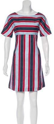 Dolce & Gabbana Short Sleeve Mini Dress multicolor Short Sleeve Mini Dress