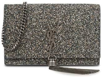 2a77006de3b at Harvey Nichols · Saint Laurent Kate Small Glittered Leather Shoulder Bag