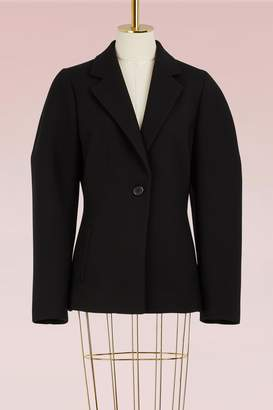 Jil Sander Sculptured Woolen Jacket