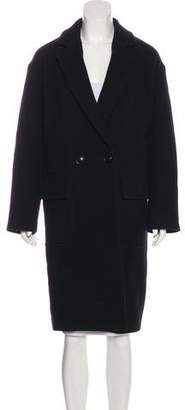 Nili Lotan Wool Knee-Length Coat
