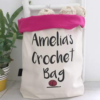 at Notonthehighstreet.com · Kelly Connor Designs Personalised Large Crochet  Bag ba4d513d0c