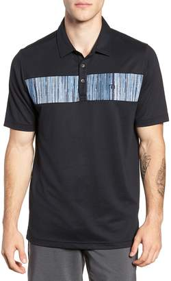 Travis Mathew Recordian Pique Polo