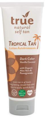 Natural Tropical Self Tan Lotion
