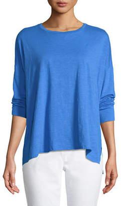 Eileen Fisher Organic Cotton Slub Tunic