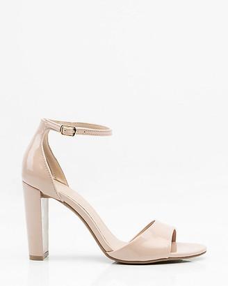 Le Château Patent Ankle Strap Sandal
