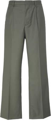 Jacquemus Le Pantalon Yvan Straight-Leg Wool Trousers