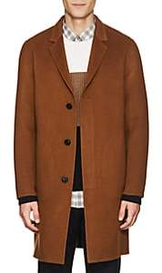 Theory Men's Double-Faced Cashmere Coat-Camel