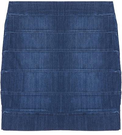 Current/elliott The Pencil Skirt In Loved