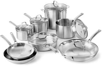 Calphalon Classic Stainless Steel 14-Piece Cookware Set
