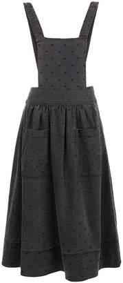 Ulla Johnson dotted jumpsuit skirt