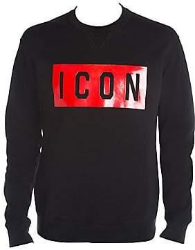 DSQUARED2 Men's Icon Crewneck Sweater