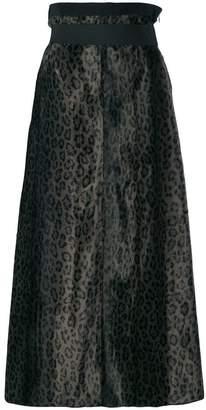 Schumacher Dorothee leopard print skirt