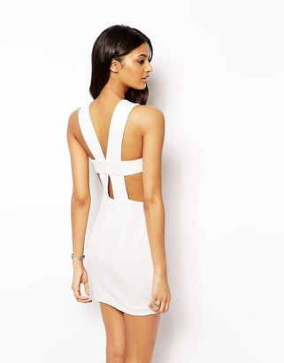 AQ AQ Chrissy 2 in 1 Dress with Strappy Back $202 thestylecure.com