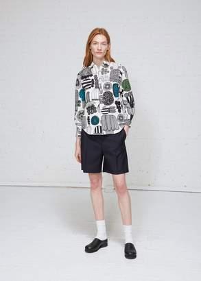 Junya Watanabe Printed Button Down Shirt