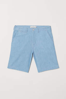 H&M Cotton Shorts - Blue