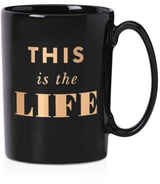 Kate Spade Simply Sparkling This is the Life Mug