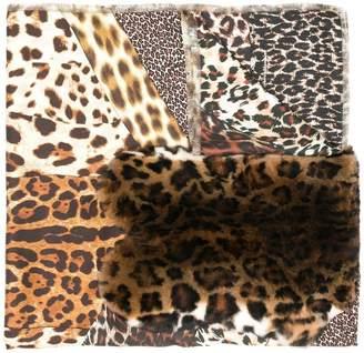 Pierre Louis Mascia Pierre-Louis Mascia leopard print scarf