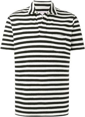 Terry Breton stripe polo shirt