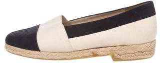 Chanel Canvas Espadrilles