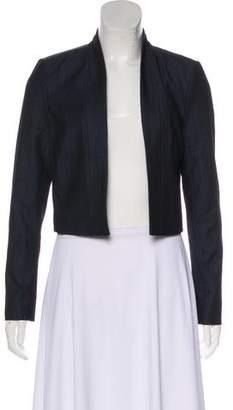 Calvin Klein Collarless Long Sleeve Blazer