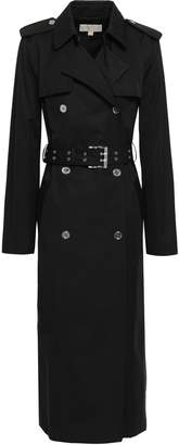 MICHAEL Michael Kors Double-breasted Cotton-blend Trench Coat
