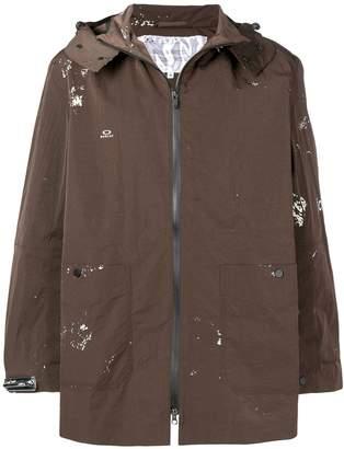 Oakley By Samuel Ross mid-length trench coat