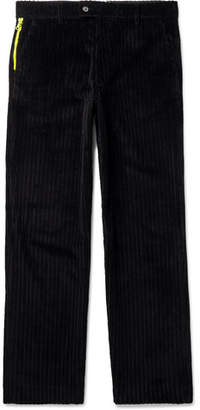 Aries Wide-Leg Cotton-Corduroy Trousers