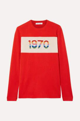 Bella Freud 1970 Cashmere-blend Sweater - Red