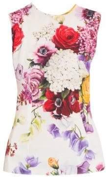 Dolce & Gabbana Sleeveless Floral Top