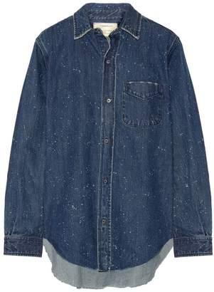 Current/Elliott Denim shirt