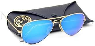 Ray-Ban RB3025 Unisex Aviator Sunglasses Mirrored (, 62)