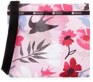 Le Sport Sac Madison Slim Sparrow Print Crossbody Bag